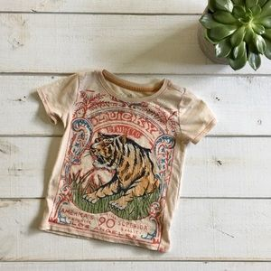 Lucky Brand toddler size 3 t vintage tee shirt
